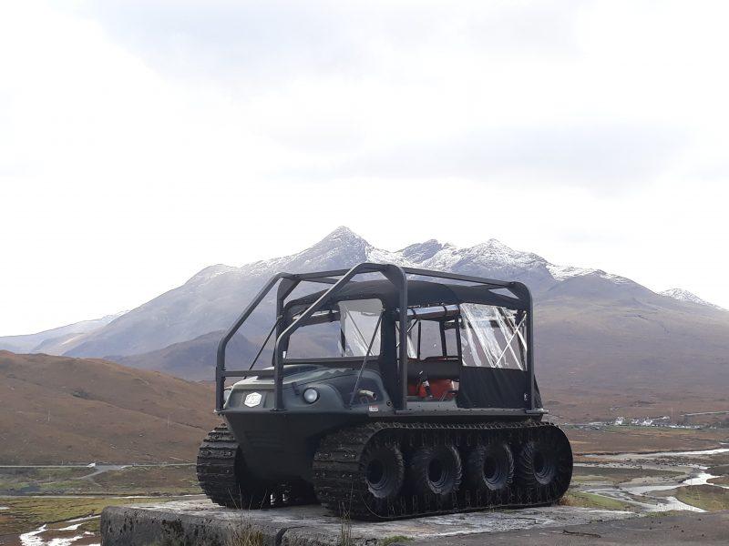 Argocat Avenger on the Isle of Skye